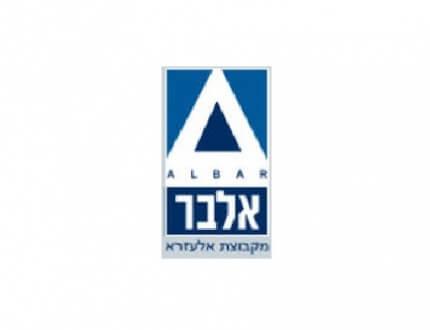 לוגו של חברת אלבר טרייד אין לרכב