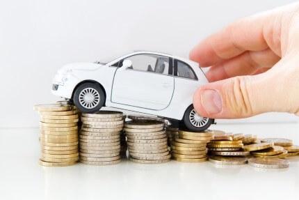 מכונית שנרכשה באמצעות חברות מימון לרכב